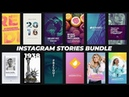 Download Instagram Stories Bundle 22068283 Videohive Free Download After Effects Templates