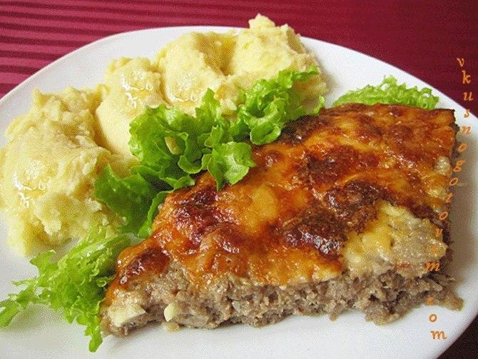 Наивкуснейшая мясная запеканка «Одна на всех»-замечательный ужин для всей семьи