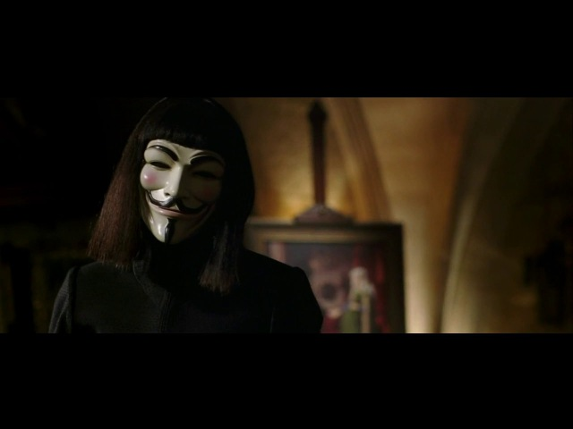 V for Vendetta - Evey Reborn scene