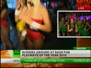 Bunnies abound as Playboy Russia celebrates Playmate of the Year