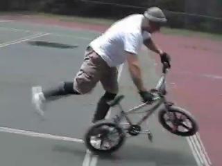Axlepeg BMX Flatland Freestyle how to flobots handlebars