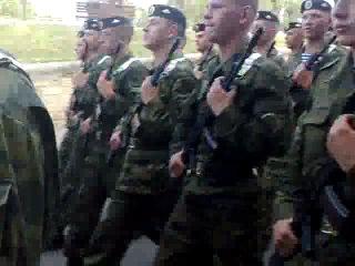 """2-я рота морской пехоты Севастополя поёт песню Н. Емелина """"Русь"""""""