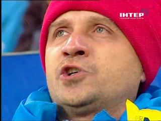 Україна - Австрія. Виконання гімну у Львові (15 листопада 2011 року) ► FMT