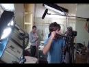 Съемки для сериала Дело чести для первого канала. Братья Чадовы в главных ролях.