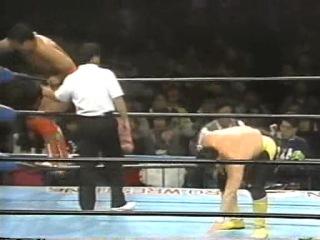 () AJPW Toshiaki Kawada Vs. Kenta Kobashi (Triple-Crown - 15-01-95)