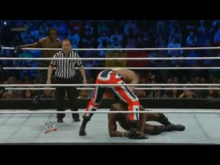 [WM] WWE Friday Night SmackDown  - R-Truth & The Prime Time Players (Darren Young & Titus O'Neil) vs. The Union Jacks (3MB (Drew McIntyre, Heath Slater & Jinder Mahal))