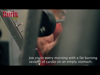 The Celebrity Workout True Blood's Joe Manganiello