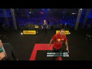 Robert Thornton vs Richie Burnett (Players Championship Finals 2013 / Round 1)