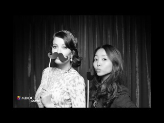 Photo booth fun video from my wedding!