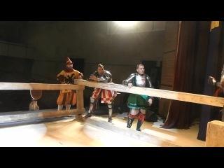 Gemfry de Bohun vs Klaus von Buchwurme(langschwert)