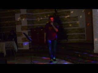 OleG STAFFORD Где прыжок там и падение концерт 21 декабря 2014 кафе бар Эдем