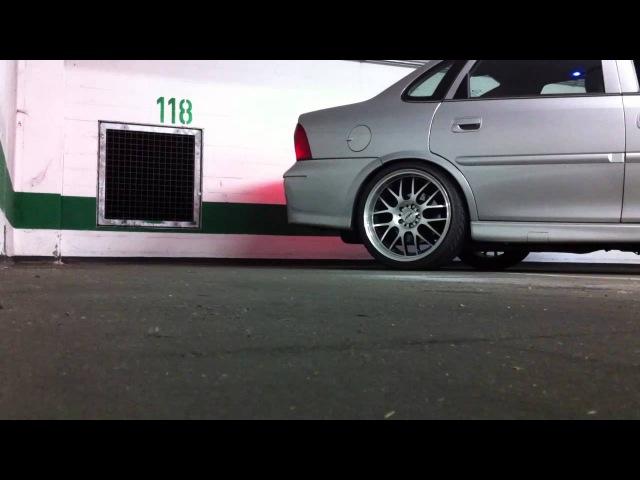 Opel Vectra B Exhaust Sound Ap Cardesign