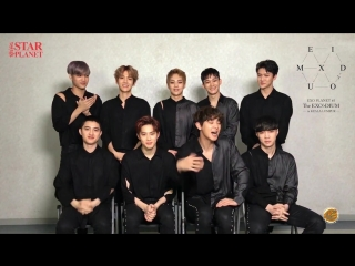 [VIDEO] 170226 Message from EXO @ The EXOrDIUM in Malaysia