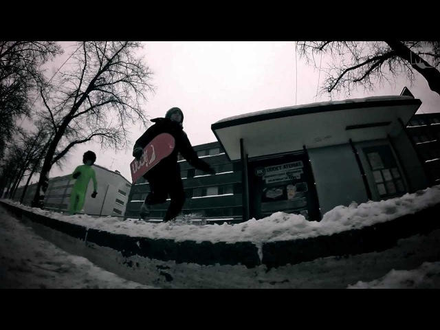 Morphsuit Snowskate MadCraft NeverAgain Official Acoustic Video