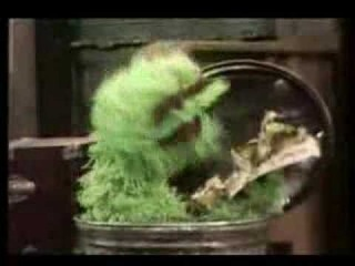 "Oscar sings ""I Love Trash"" (1970)"