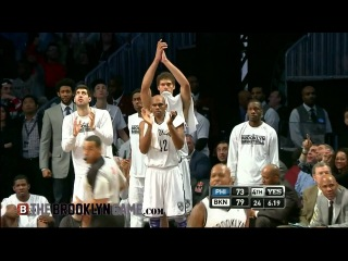 Andray Blatche Dunks on Spencer Hawes