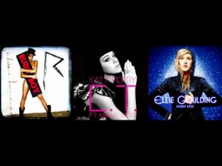 Katy Perry vs. Rihanna vs. Ellie Goulding ∆ E.T. vs. Starry Eyed vs. Rude Boy (Mashup Remix)