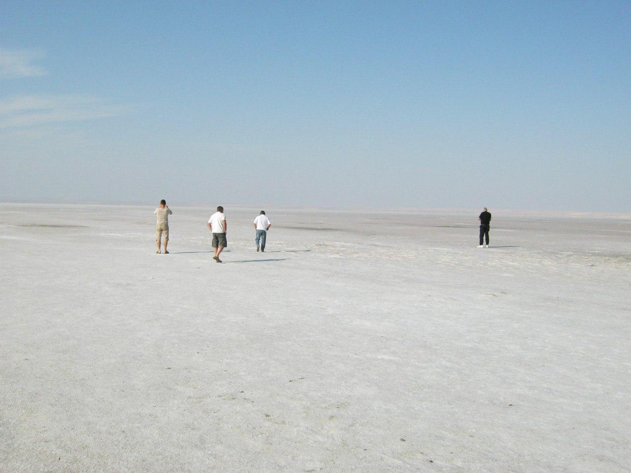 озеро Туз (Солёное озеро) фото