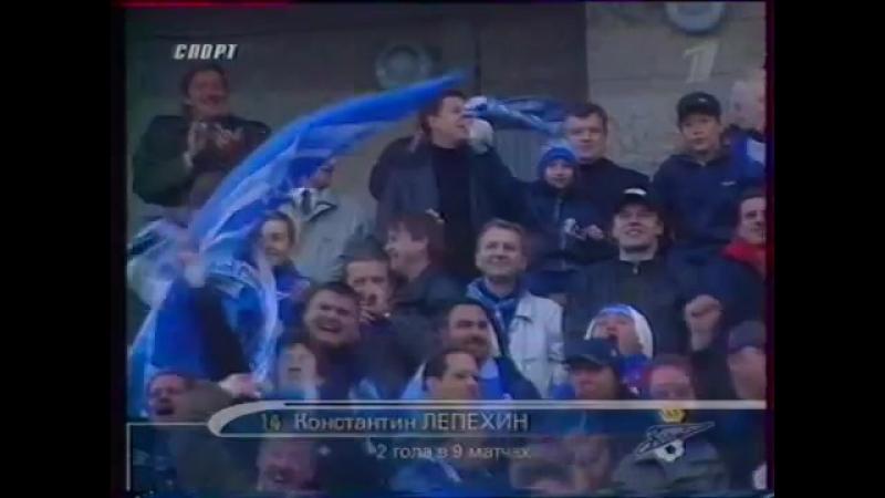 4 гола за 6 минут ( Зенит, 2001 год )