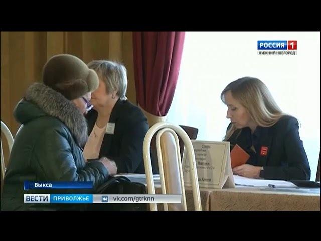 Ажиотаж - кадры голосования в Выксе