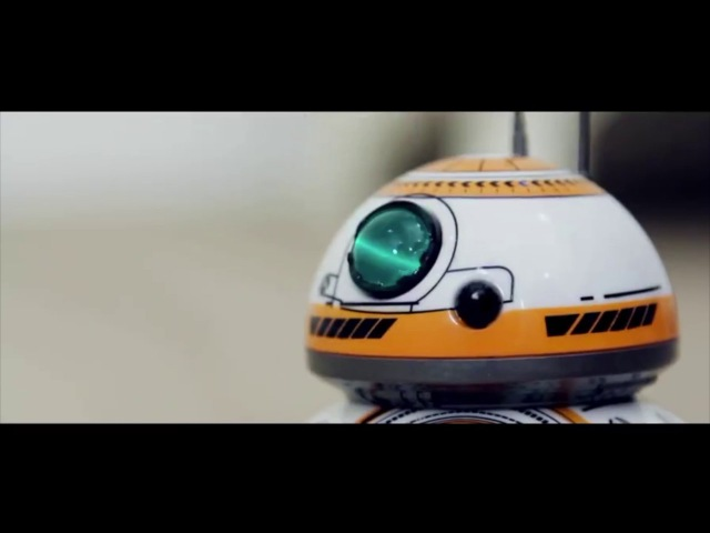 Santa Says RC BB-8 Robot Star Wars 2.4G remote control