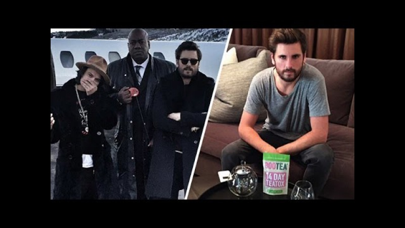 Scott Disick Signs With A Detox Brand