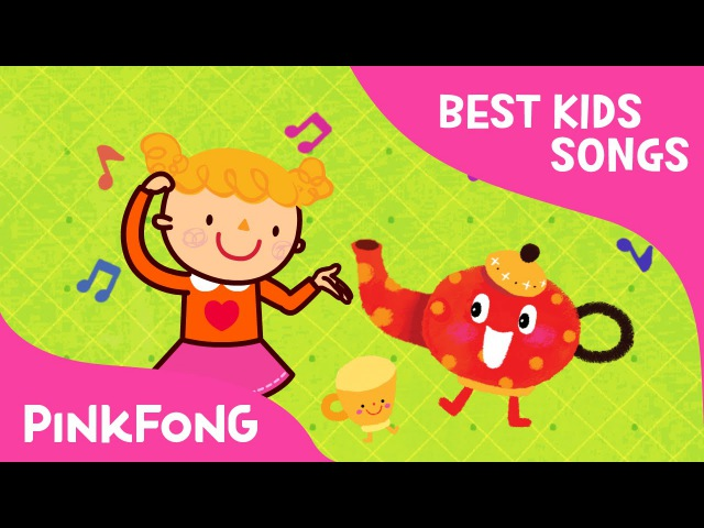 I'm a Little Teapot Best Kids Songs PINKFONG Songs for Children