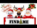 Where is SANTA and his friends CHRISTMAS GAME hidden objects