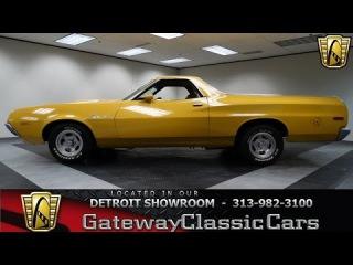 1972 Ford Ranchero #384 DET Gateway Classic Cars Detroit