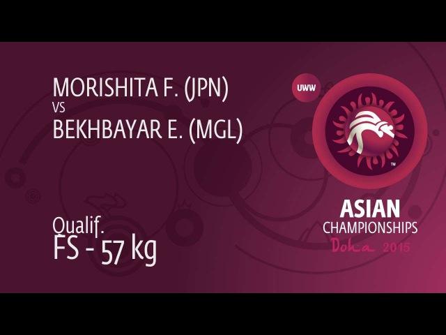 Qualification Erdenebat BEKHBAYAR MGL df Fumitaka MORISHITA JPN 5 0