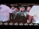 FLOYD MAYWEATHER'S ENTRANCE TO WEIGH IN @ MGM GRAND MAYWEATHER v MAIDANA 2
