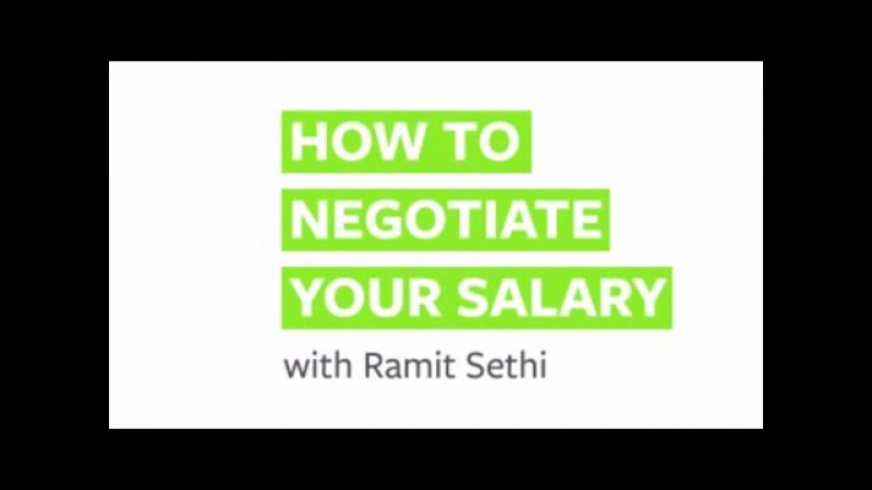 How to Negotiate Salary with Ramit Sethi