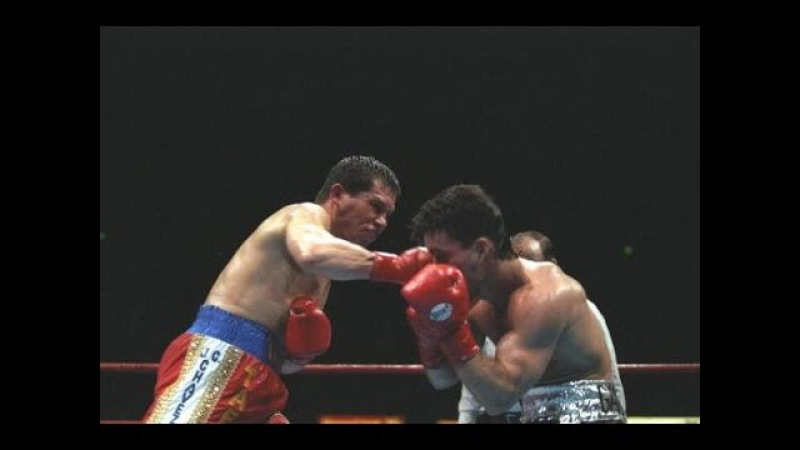 Julio Cesar Chavez Stops Gamache This Day in Boxing October 12 1996