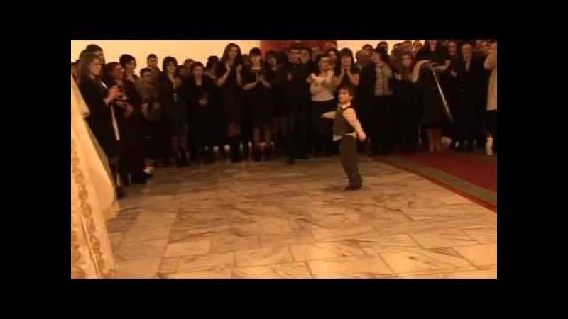 МАЛЕНЬКИЙ ДЖИГИТ танцует къафу