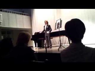 Boris Pinkhasovich singing Aleko's aria from the Opera 'Aleko' by Sergei Rachmaninov
