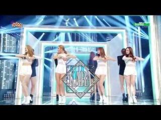 [Live HD 720p] 150606 KARA(카라) - CUPID(큐피드) @ Music Core