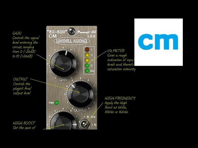 FREE VST/AU preamp plugin: Lindell Audio 6X-500 CM