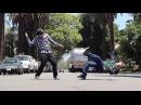 Poppin и John Solto - не простые танцоры, а настоящие шаманы верхнего брейк-данса и поппинга. Они нарушают все законы физики и анатомии, и в некоторых случаях кажется, что ты смотришь не на танцующих на улице пацанов, а на роботов.