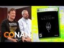 Conan O'Brien Reviews Skyrim - Clueless Gamer - CONAN on TBS