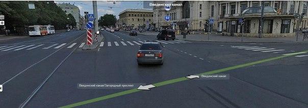 Какое наказание за движение по трамвайным путям? ...