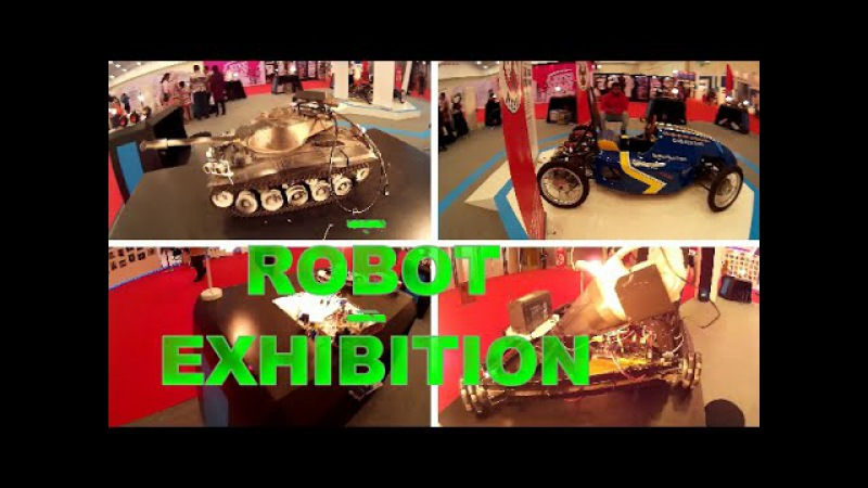 Robot Exhibition Inovasi Digital Indonesia