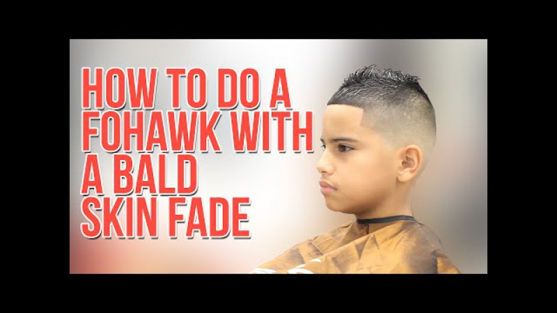 How to do a FoHawk with Bald Skin Fade