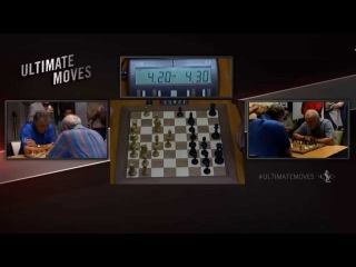 Garry Kasparov vs Yasser Seirawan Blitz at Ultimate Moves - after Sinquefield Cup 2015