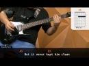 18 And Life Skid Row aula de guitarra