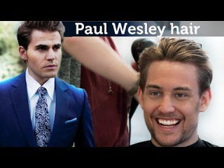 Paul Wesley Hairstyle | Awesome mens hairstyle | Slikhaar TV mens hair inspiration channel