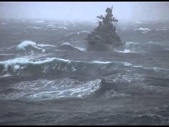 Любительское видео с авианосца Адмирал Кузнецов часть 1