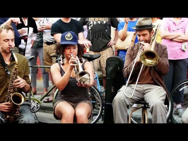 Tuba Skinny -Gotta Give Me Some - Royal St. 4/13/13 - MORE at DIGITALALEXA channel