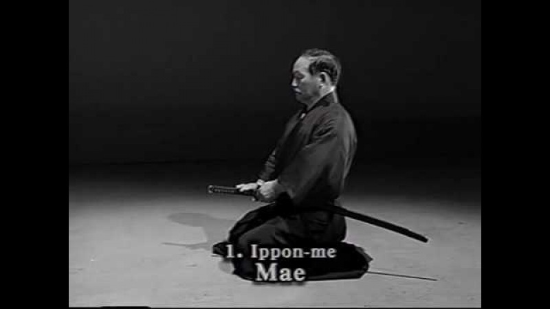 Iaido Kata Seitei 01 Ippon me Mae High quality