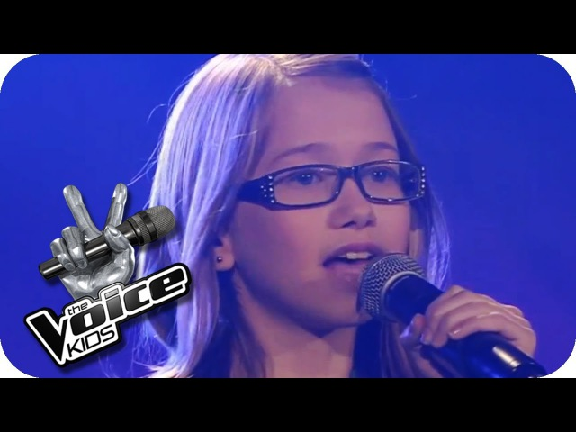Whitney Houston I will Always Love You Laura The Voice Kids 2013 Blind Audition SAT 1