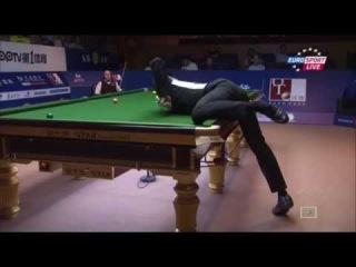 Snooker. Shanghai Masters 2015. John Higgins - Liang Wenbo. Round 1.